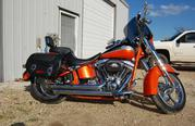 2010 Harley-Davidson Softail 2, 870 miles on it.