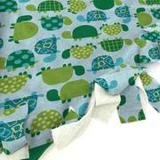 Turtle Time Blanket Tie Kit